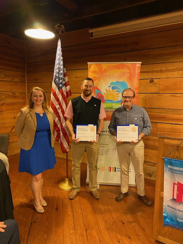 New Members | South Hall Rotary