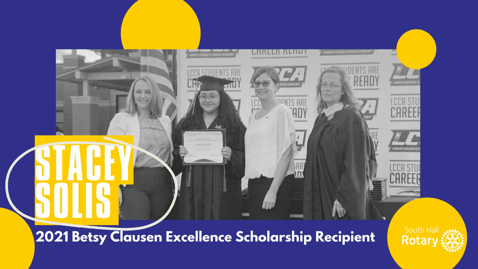 stacey solis betsy clausen scholarship