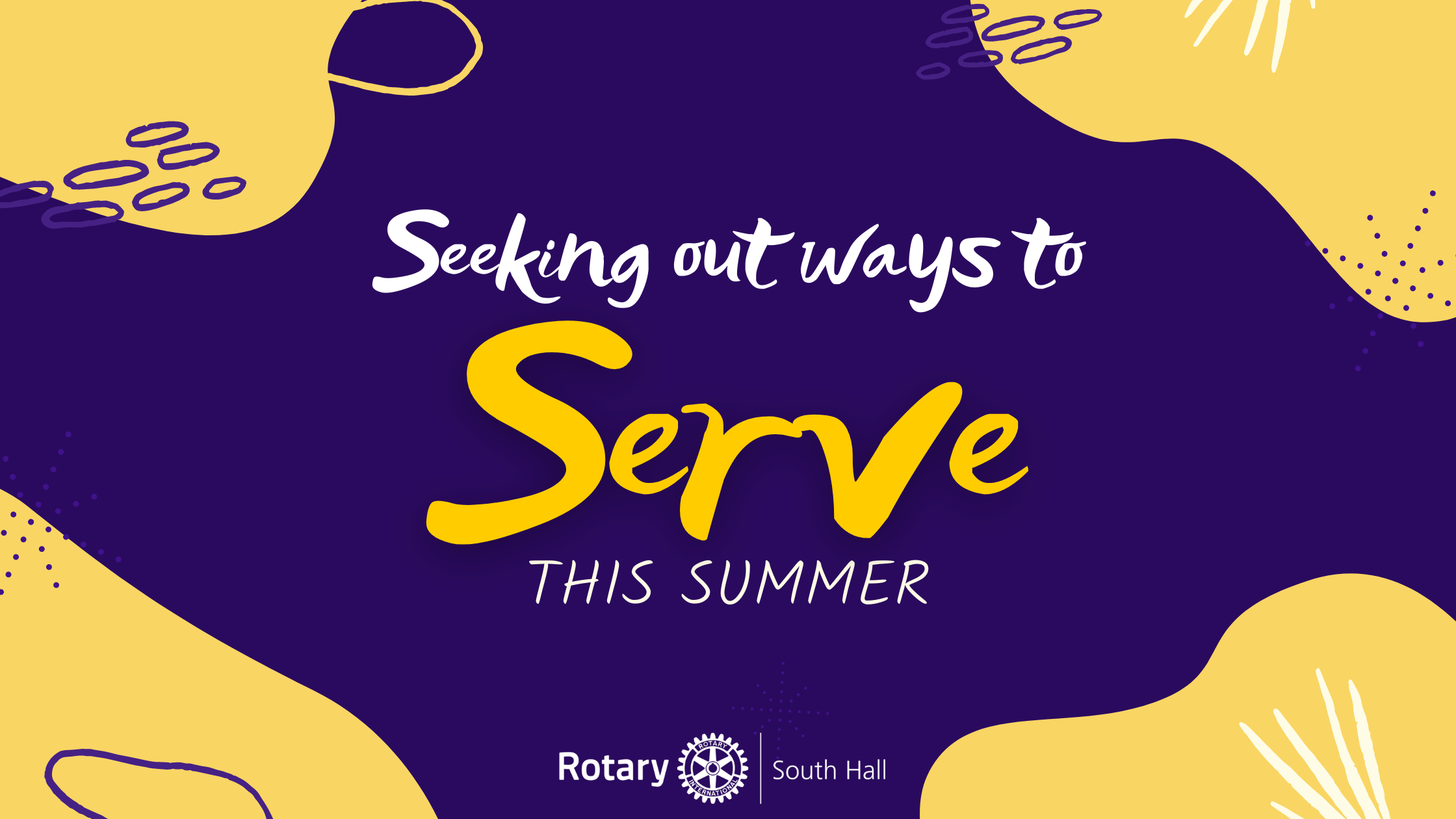Seeking out ways to Serve this Summer