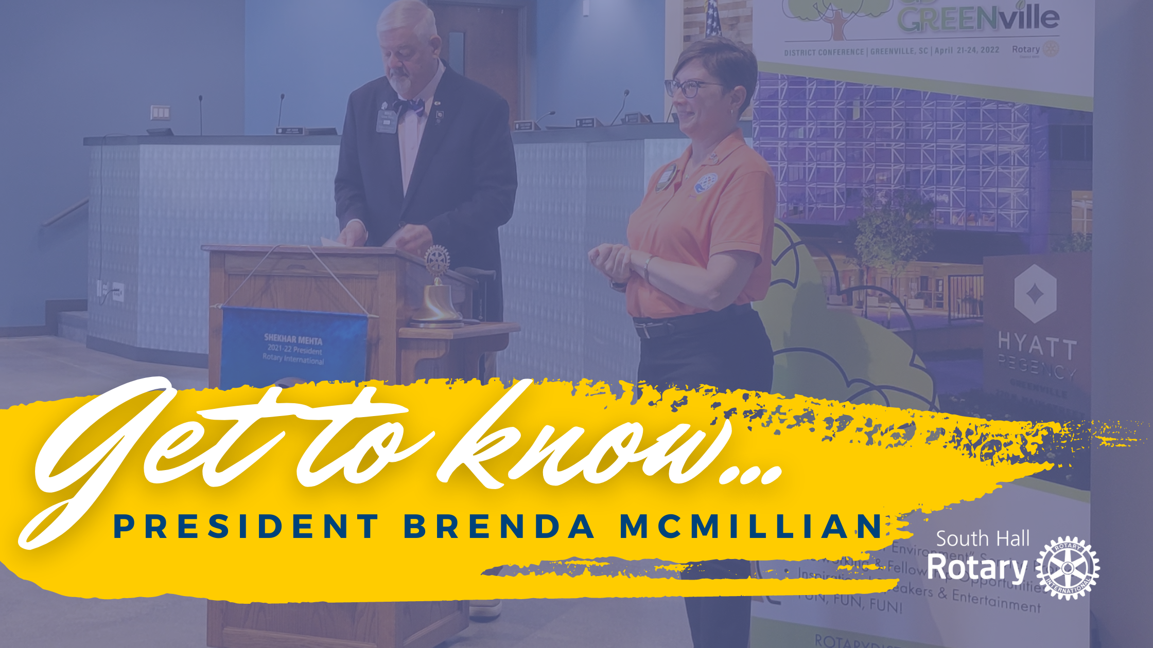 Get to know Brenda