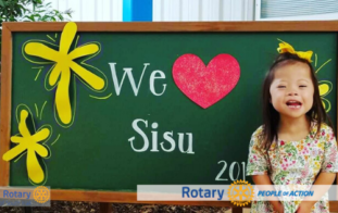 South Hall Rotary Support Students and Families of Sisu