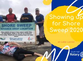 Shore Sweep 2020   South Hall Rotary Club