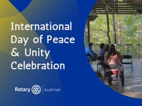 Peace & Unity Day Event   South Hall Rotary