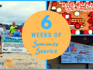 6 weeks of Summer Service | South Hall Rotary